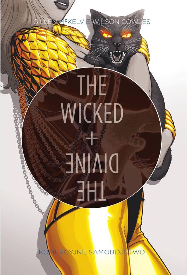 The Wicked + The Divine #03. Komercyjne Samobójstwo - okładka