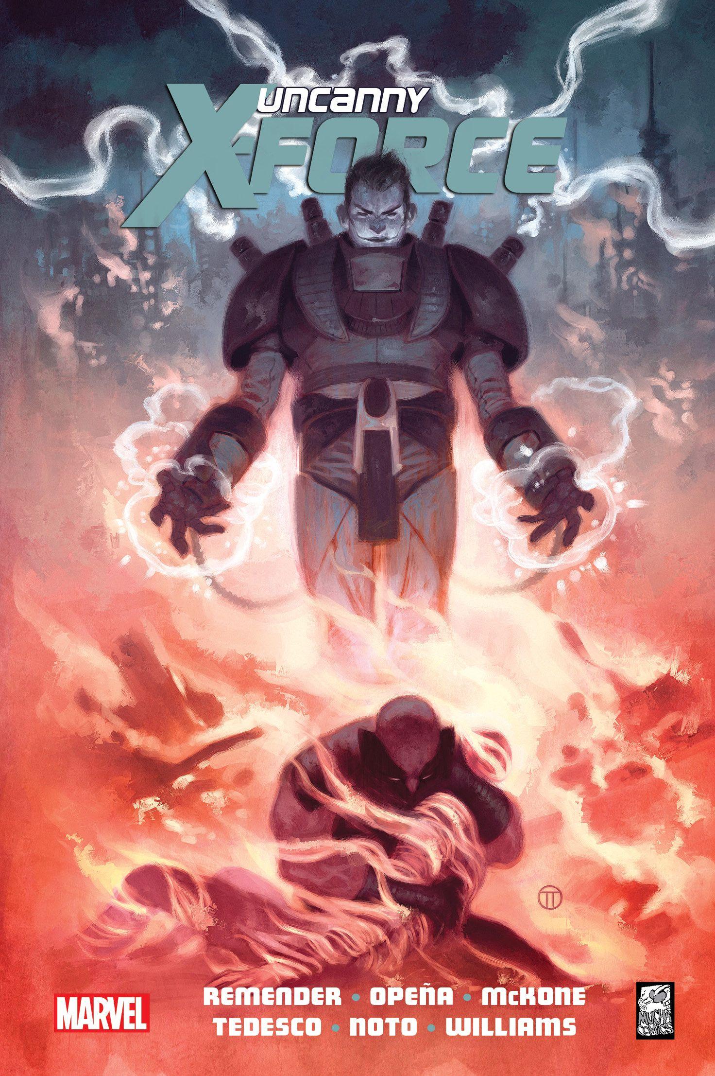 Uncanny X-Force. Ostateczna Egzekucja - okładka                                                                                 Uncanny X-Force. Ostateczna Egzekucja - okładka