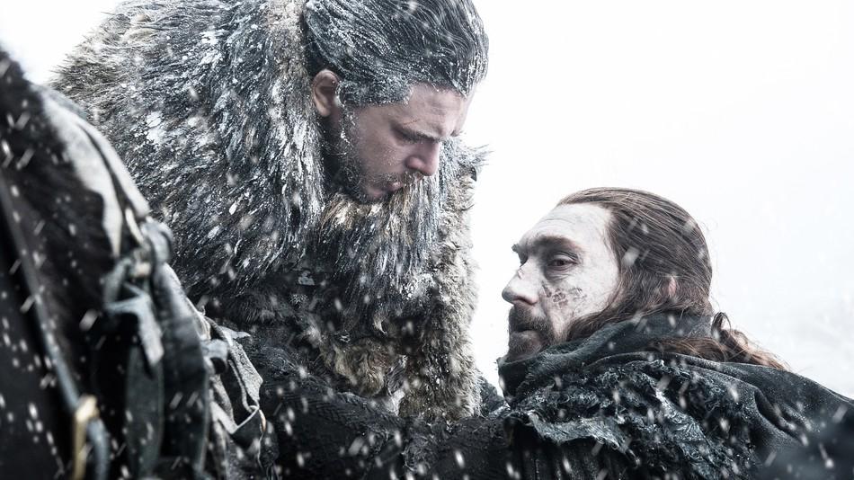 Benjen Stark ratuje Jona Snowa