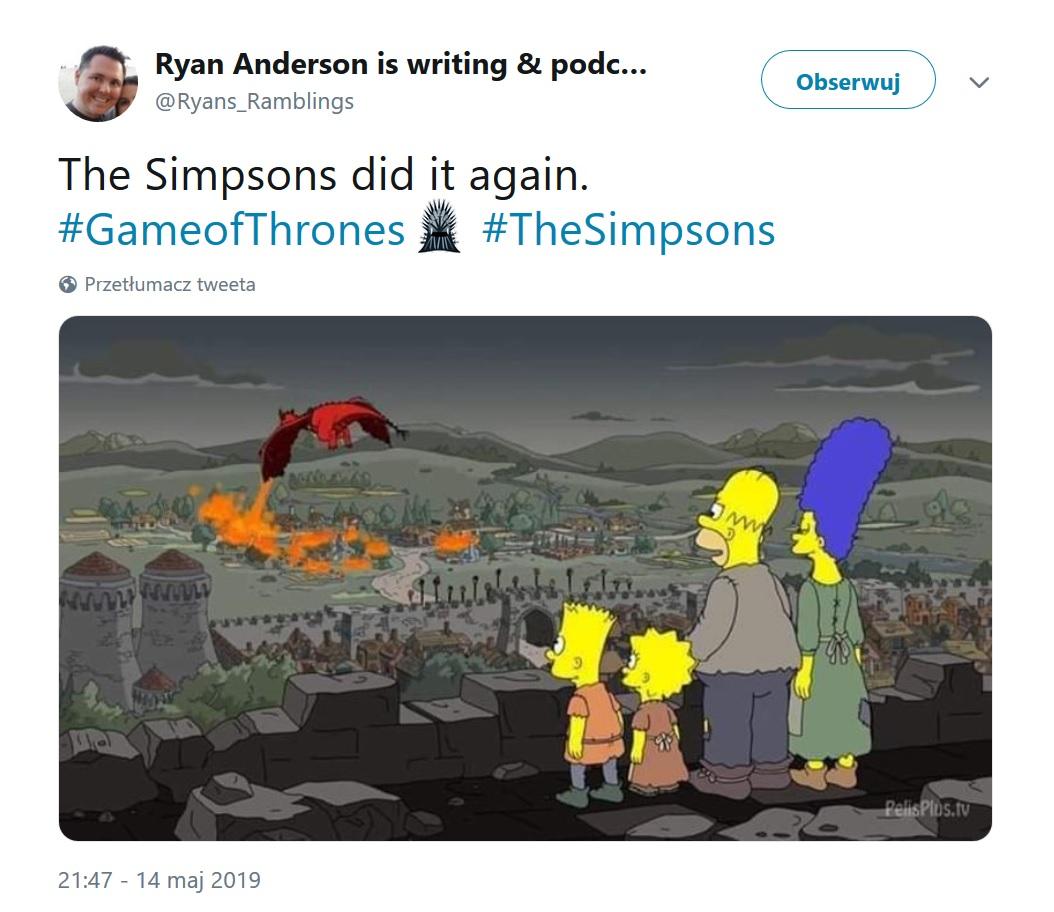 Simpsonowie - Gra o tron