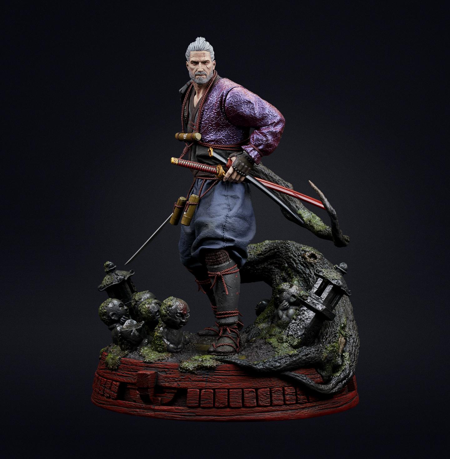 Geralt Ronin - figurka