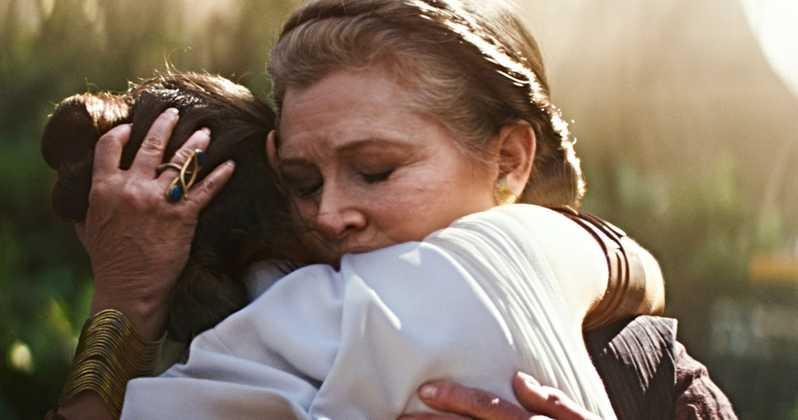 Skywalker. Odrodzenie - jak kręcono sceny z udziałem Lei