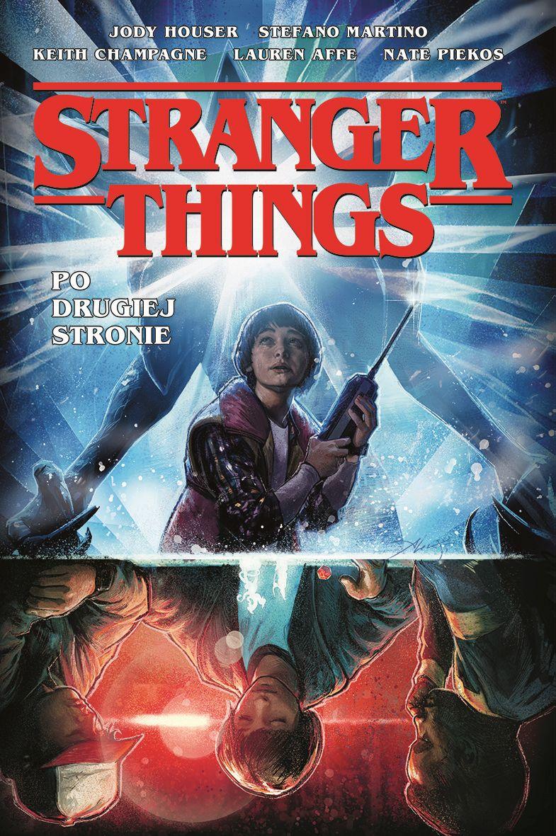 Stranger Things. Po drugiej stronie - okładka