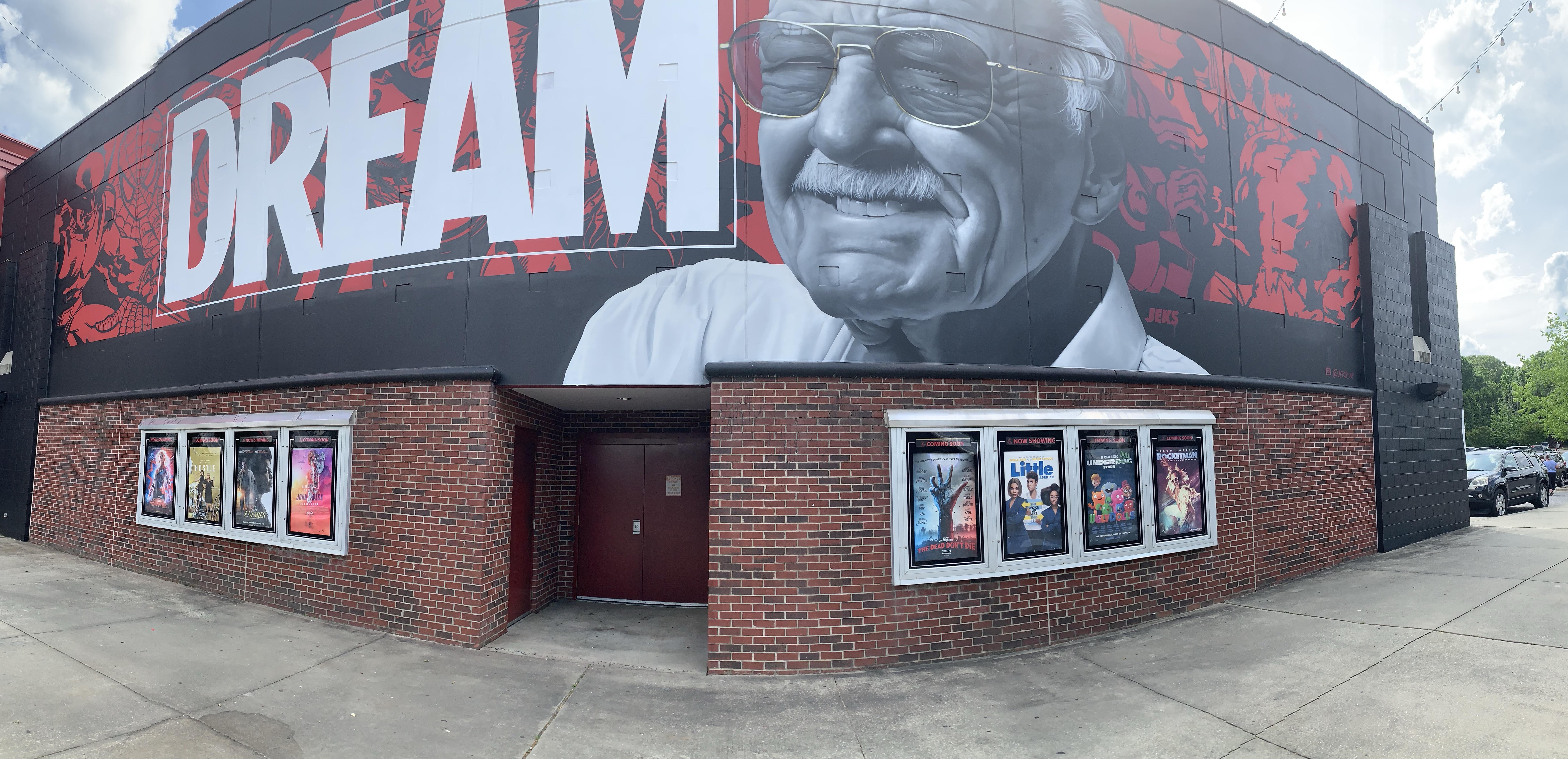 Stan Lee - mural