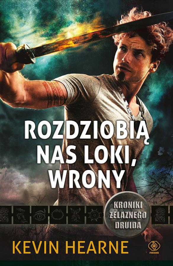 Rozdziobią nas Loki, wrony - okładka