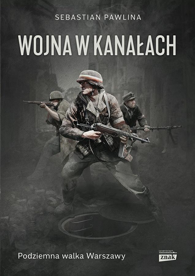 Wojna w kanałach - okładka
