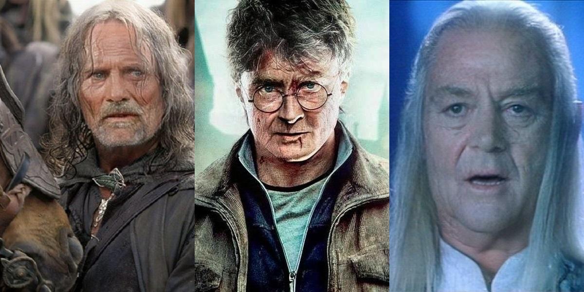 Władca Pierścieni i Harry Potter - bohaterowie jako dziadkowe [galeria]