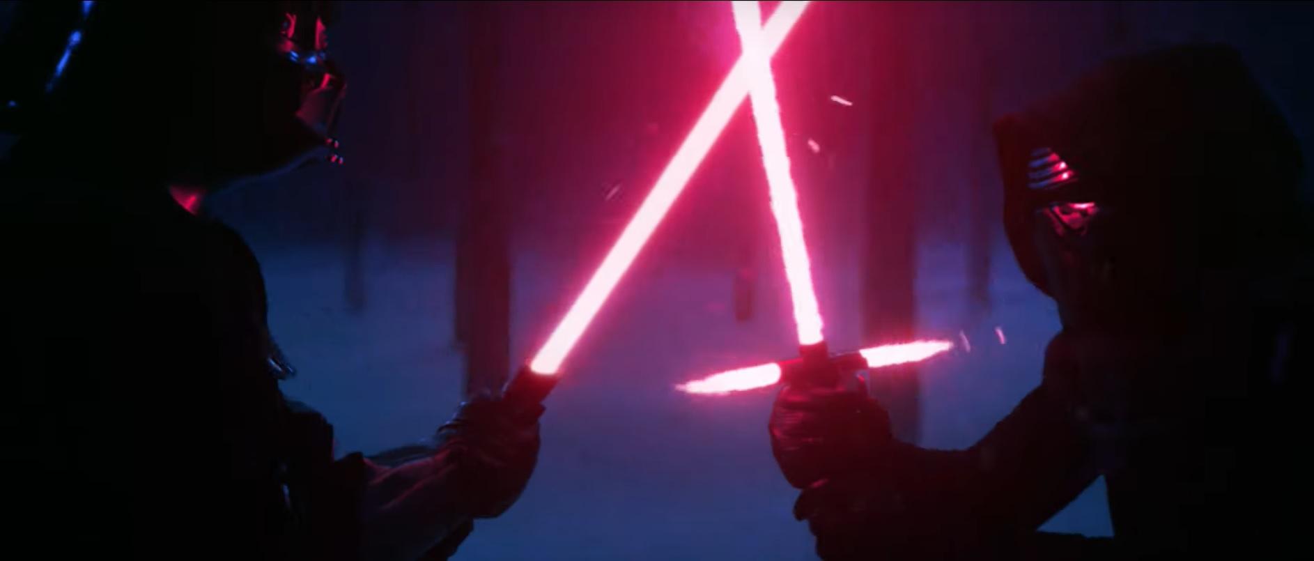 Kylo Ren kontra Darth Vader. Zobacz świetny fanowski film