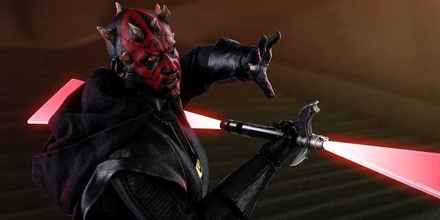 Darth Maul z filmu Han Solo jak żywy. Zobacz zdjęcia figurki
