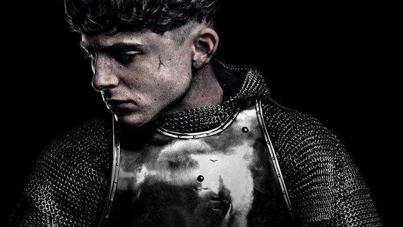 The King - Timothee Chalamet w roli króla Henryka V. Plakat filmu Netflixa