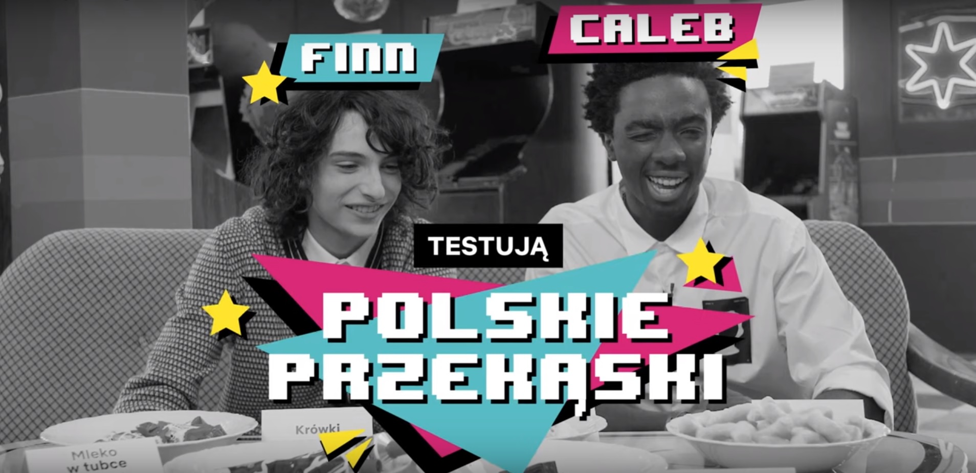 Stranger Things - aktorzy testują polskie przekąski. Zobacz wideo!
