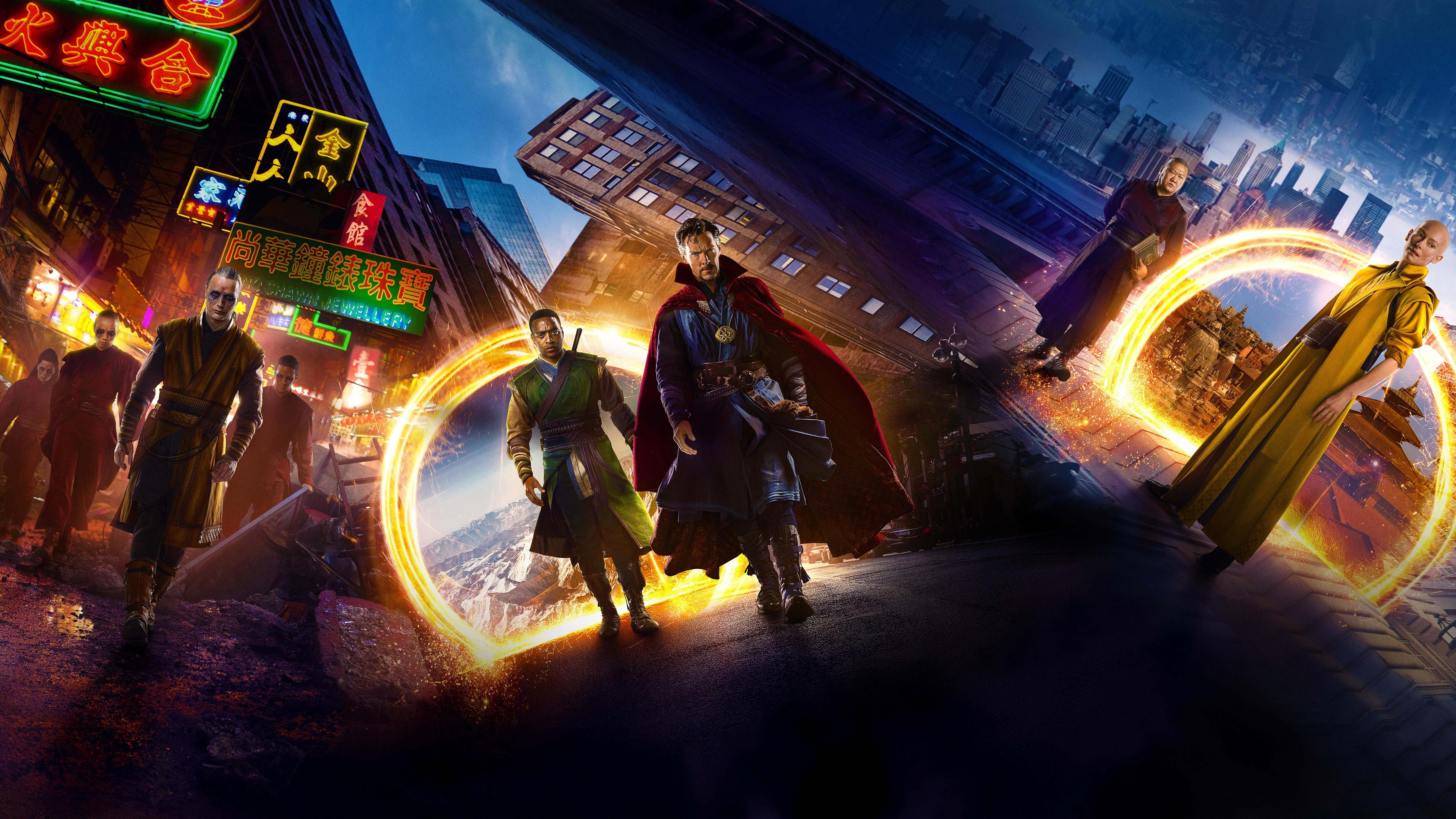 Doktor Strange - w kogo zamienił się Kaecilius? Zobacz szkic tajemniczych istot