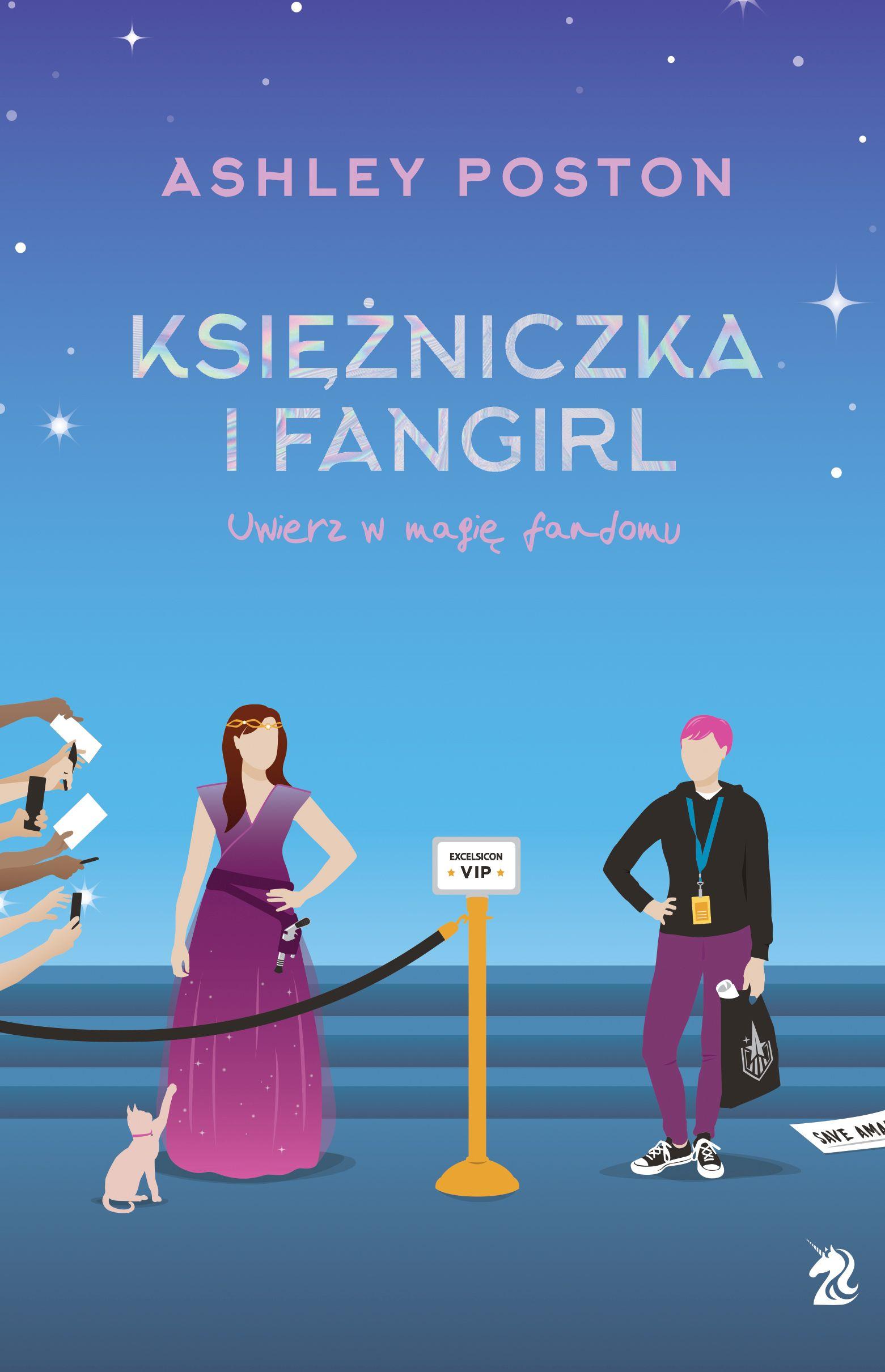 Książniczka i fangirl - okładka