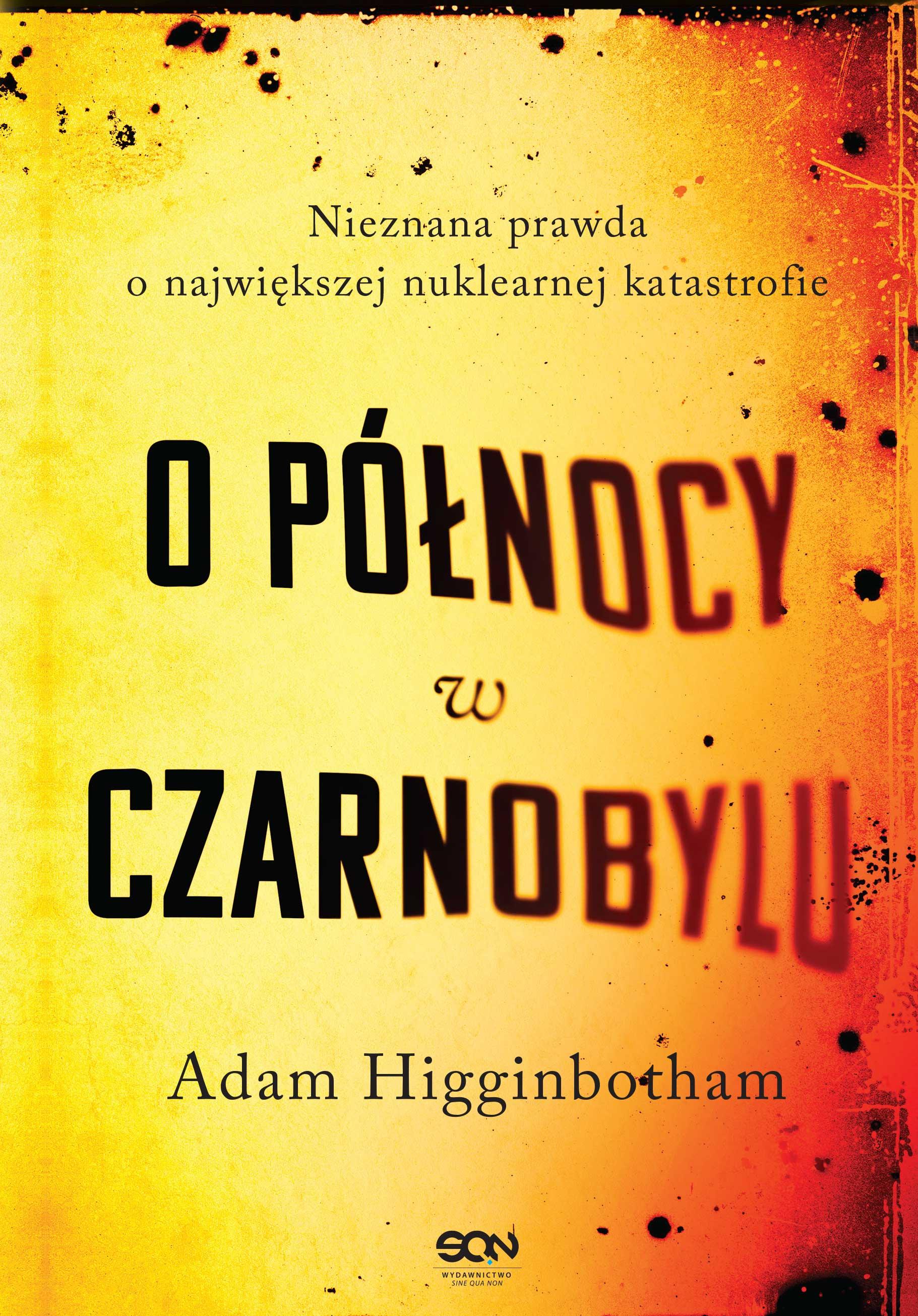 O północy w Czarnobylu - okładka