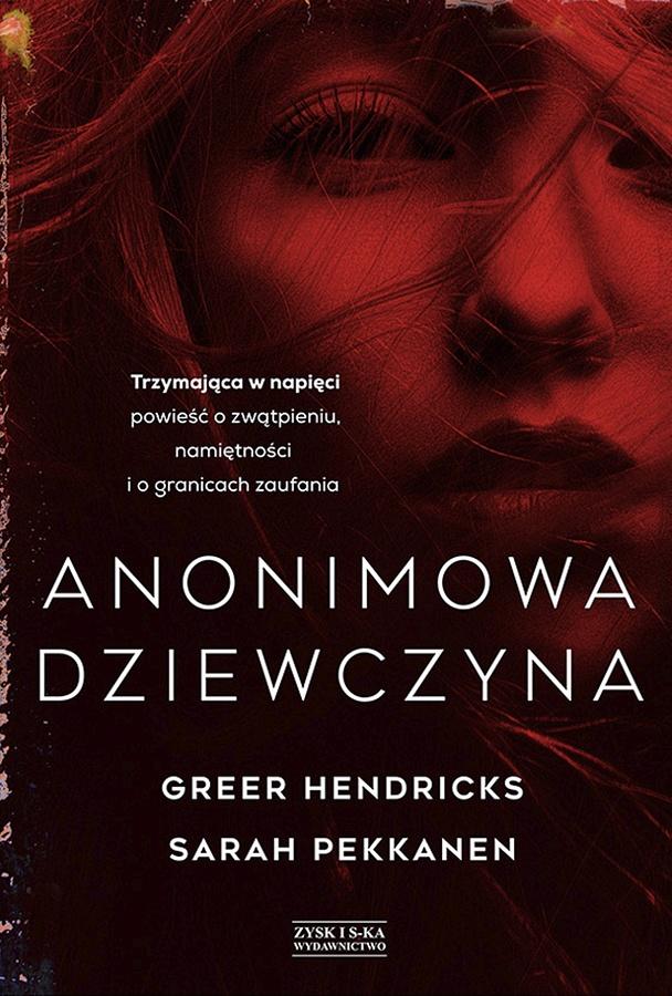Anonimowa dziewczyna - okładka