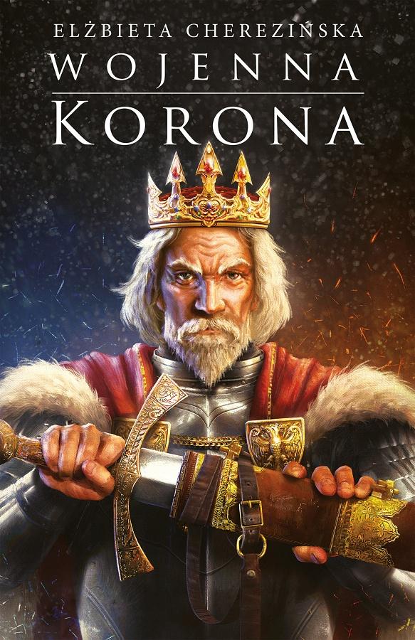 Wojenna korona - okładka