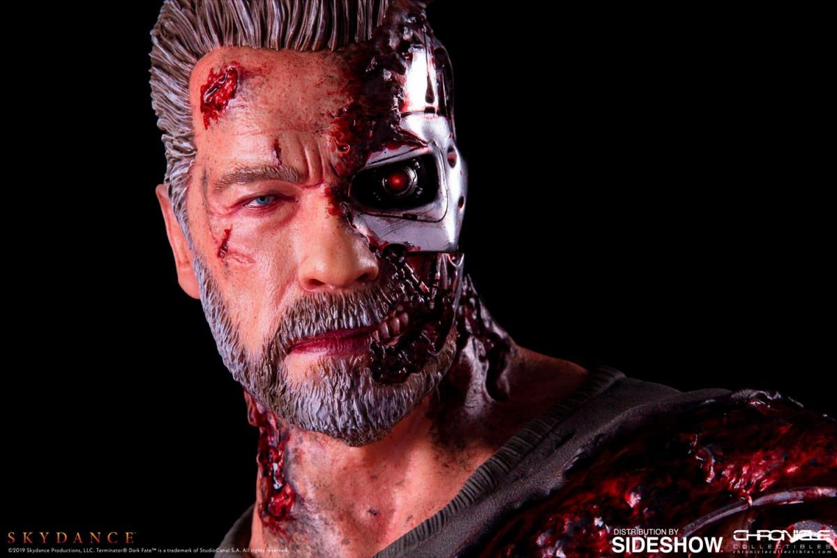 Terminator: Mroczne przeznaczenie - figurka T-800 z filmu