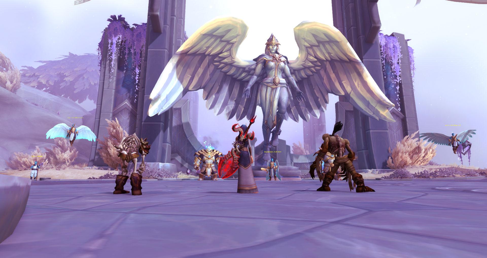 World of Warcraft: Shadowlands - στιγμιότυπα οθόνης του παιχνιδιού