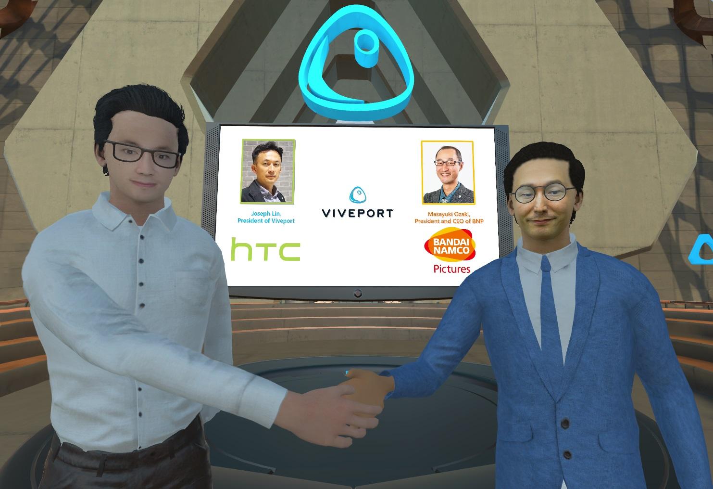 HTC we współpracy z Bandai Namco wdroży anime do wirtualnej rzeczywistości