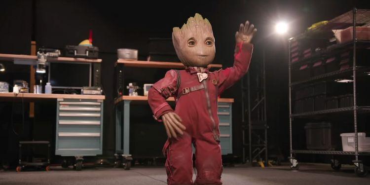 Mały Groot jak żywy. Disney zbudował świetnego robota dla parku rozrywki