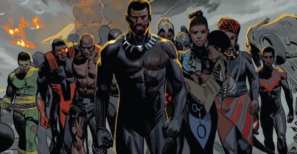 Czarna Pantera – najpotężniejsza Wakanda w historii! Nowy tytuł T'Challi, śmierć [SPOILER]