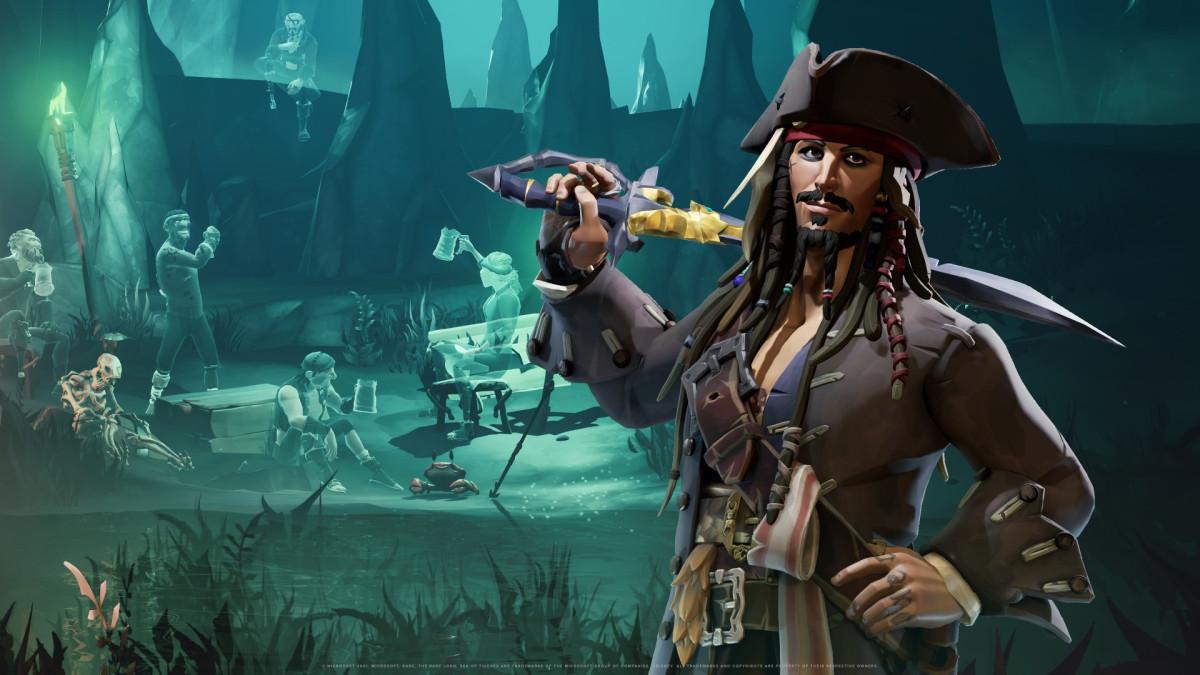 Sea of Thieves: A Pirate's Life – czyim głosem przemawia Jack Sparrow? To nie Johnny Depp