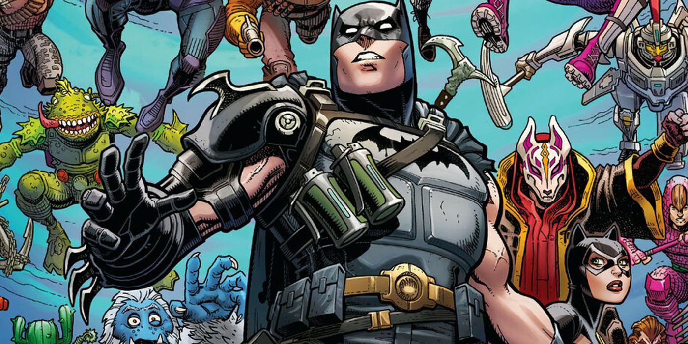 Batman/Fortnite: Punkt Zerowy we wrześniu w Polsce! Będzie bonus dla fanów gry