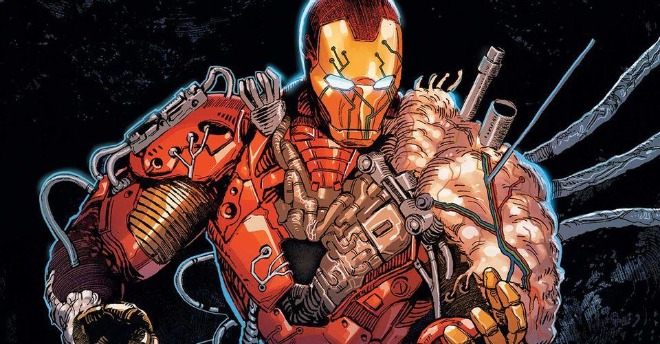 Marvel – oto obrzydliwa zbroja Iron Mana jak z body horroru. Stark przeczyta Darkhold