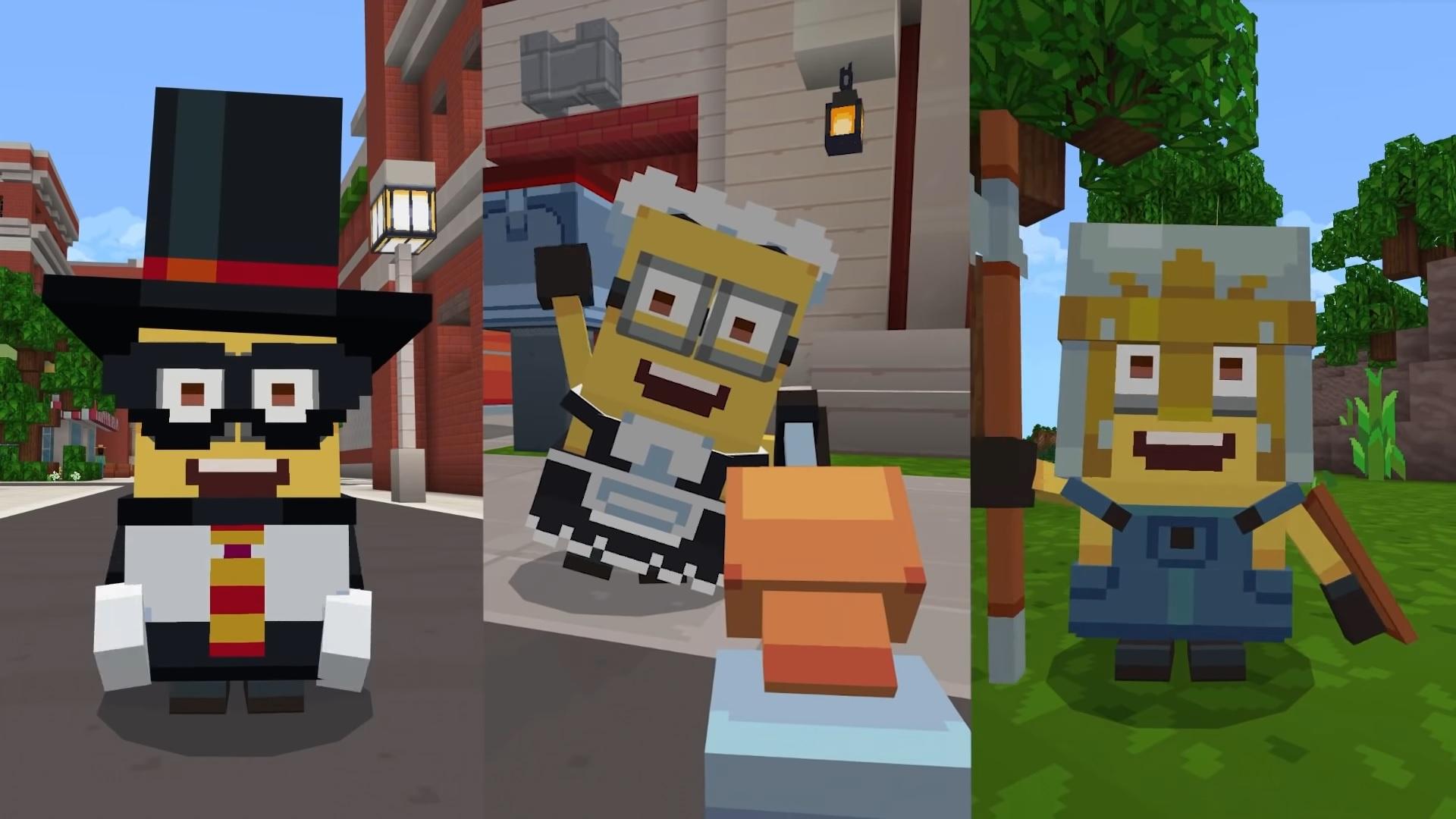 Minionki wkraczają do świata Minecrafta